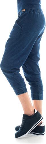 Bavlněné tepláky barvené indigem Lull Loungewear Jaden 8470212848