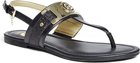 b269f1497509 Guess Dámské elegantní sandále G by GUESS Women`s Lynda T-Strap Sandals  Black