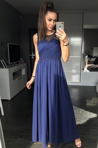 d632d26fcc0 Adria Dámské luxusní společenské šaty s korálky - Glami.cz
