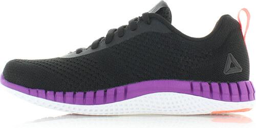 Fekete-lila női tornacipő Reebok Print Run Prime Ultraknit - Glami.hu 43c689882f