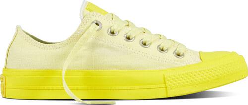 Sárga Converse tornacipő Chuck Taylor All Star II OX Lemon Hase Fresh Yellow 472ad953b6