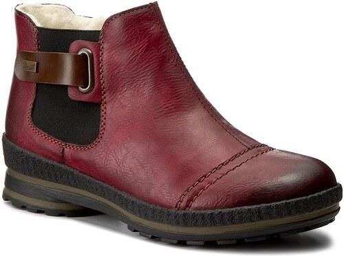 Magasított cipő RIEKER - Z2474-35 Red - Glami.hu adb3b9b63a