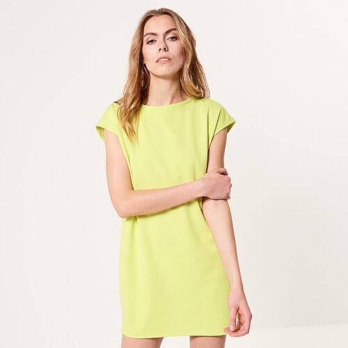 3450e6bb7531 Mohito - Jednoduché úpletové šaty - Zelená - Glami.sk