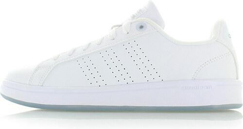 5aabe0ac2a9 adidas CORE Dámské bílé tenisky ADIDAS Cloudfoam Advantage Clean ...