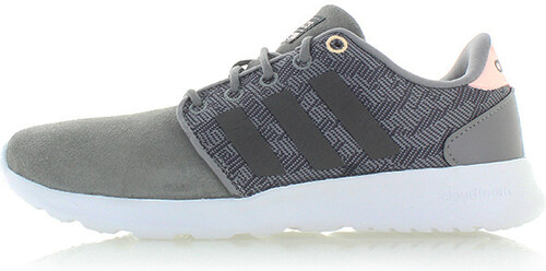 adidas CORE Dámské šedé tenisky ADIDAS Cloudfoam QT Racer - Glami.cz 3a98e041503