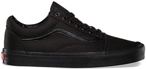 5b9d0775c10 Dámské boty Vans OLD SKOOL Black Black 37 - Glami.cz