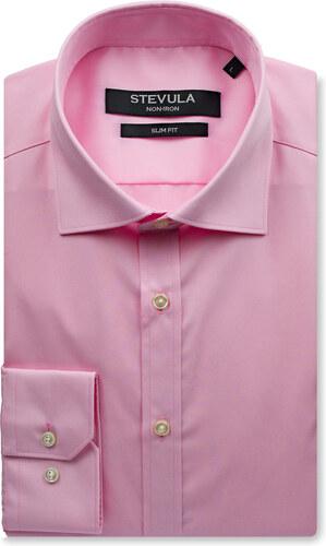 5d0903d0feec -40% STEVULA Staroružová košeľa so skrytým kontrastom