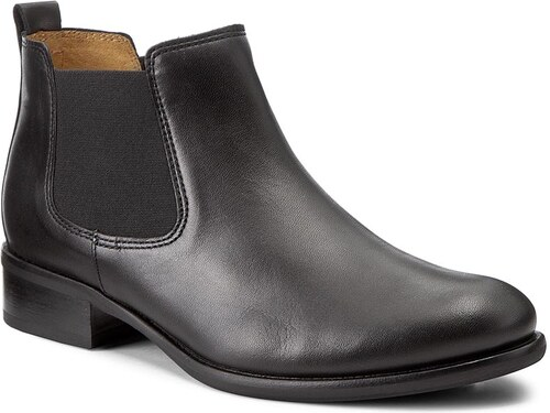 f2d20ba599ff Kotníková obuv s elastickým prvkem GABOR - 71.640.27 Schwarz - Glami.cz