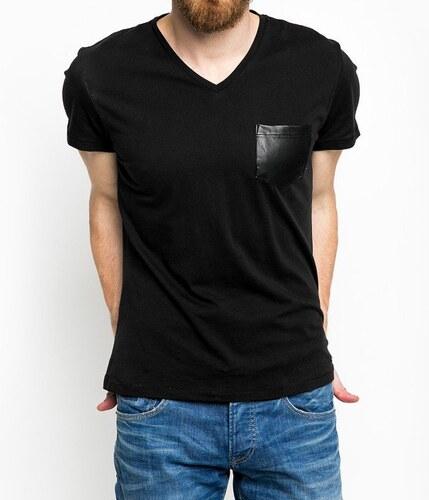Pepe Jeans pánské černé tričko Jose - Glami.cz 439a787a22