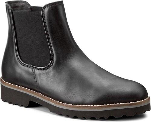 da667a6e03e7 Kotníková obuv s elastickým prvkem GABOR - 71.680.20 Schwarz (Cognac ...