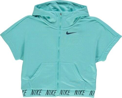 Nike Dry Krátký rukáv Dívčí mikina na zips s kapucí - Glami.sk 5cc975ecea1