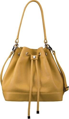 Luxusná kabelka cez plece Wojewodzic žltá 31722 GS19 - Glami.sk 9032a1e0225