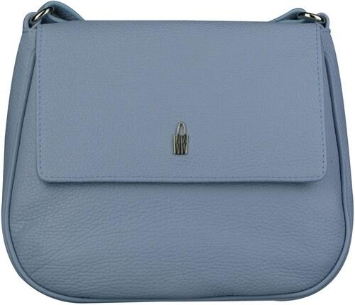 Luxusní kožené crossbody kabelky Marketa modré 31723 GS47 Wojewodzic ... bea02d59dd6