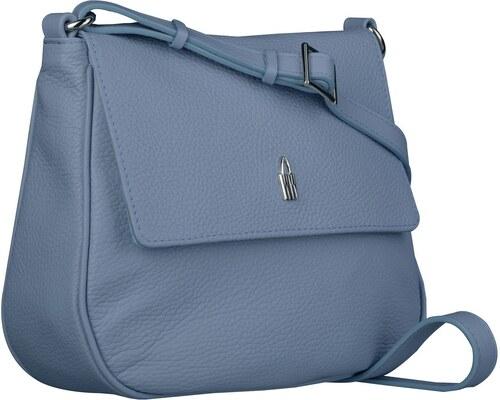 Luxusná kožená kabelka cez plece Wojewodzic modrá 31723 GS47 - Glami.sk 720ff81b0e1