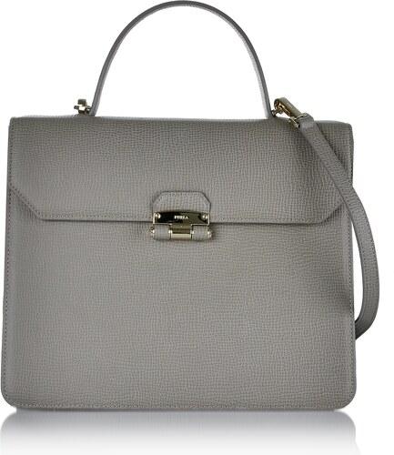 Luxusná kožená kabelka na plece Furla sivá 6fur-01-5-103-k02 - Glami.sk eac1507cd5a