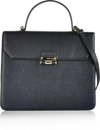 Luxusná kožená kabelka na plece Furla čierna 6fur-01-5-103-k01 ... 4186cdb067b