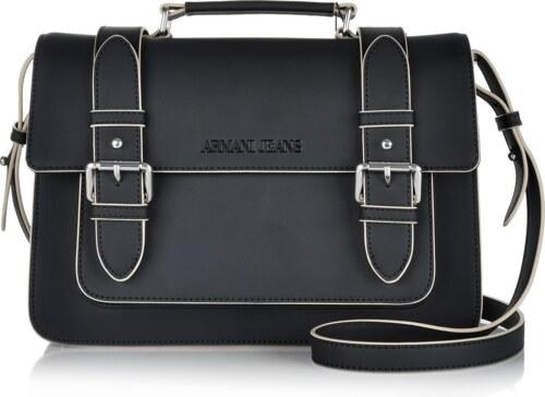Značková kabelka cez plece Armani Jeans čierna 6aj-01-5-053-k01 ... e4b3ccf1a21