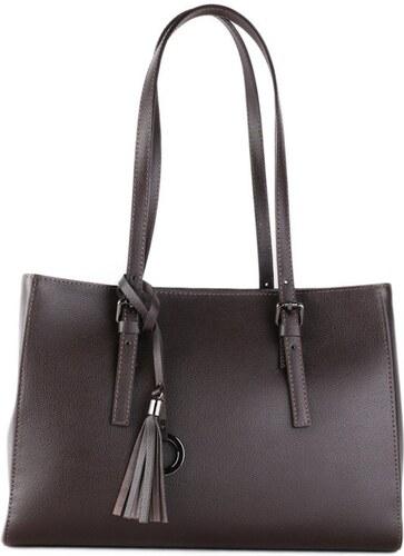 b49b617150 TALIANSKE Kožená kabelka cez plece Talianska čokoládová Leone - Glami.sk