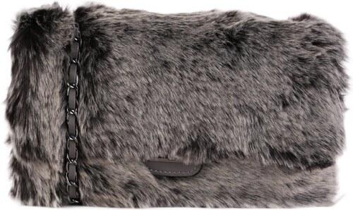 TALIANSKE Kožená kabelka Talianska sivá Miriam - Glami.sk bba4e6e020e