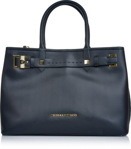Značková kabelka cez plece Trussardi Jeans čierna 6trd-01-5-016 ... 9e22ee74bdd