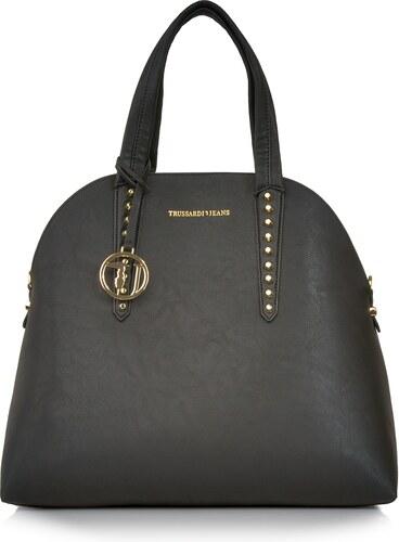 Značková luxusná kabelka Trussardi Jeans čierna trd-01-5-013-k01 ... 828f3d41d3f