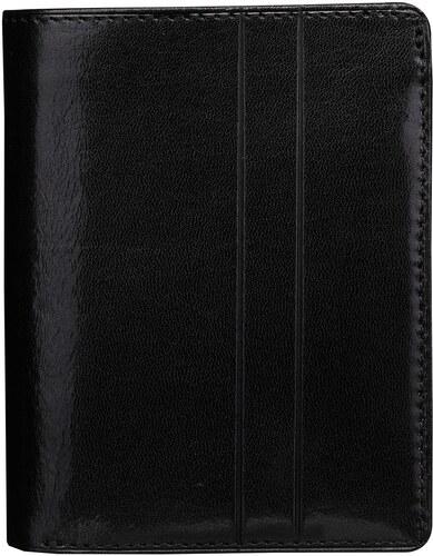 f1c26409e8 Wojewodzic kožené značkové peňaženky čierne 3PMC68 01 - Glami.sk