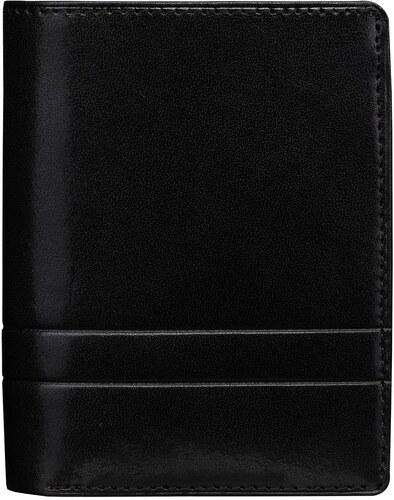 a1187969bb Wojewodzic kožené značkové peňaženky čierne 3PMC69 01 - Glami.sk
