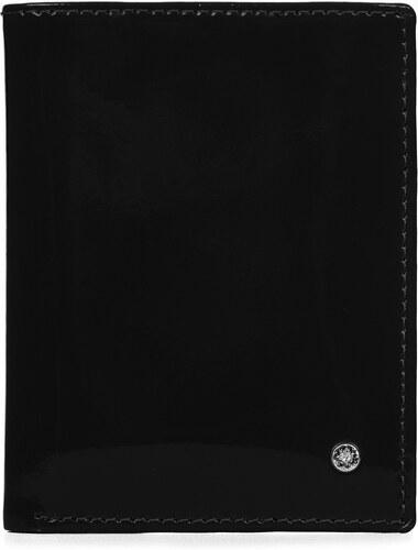 7c57685355 Kožené značkové puzdro na doklady Wojewodzic čierne 3PDC67 PL01 ...