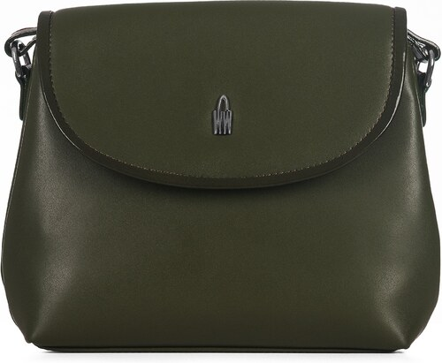 Kožená kabelka luxusná crossbody Wojewodzic zelená 31408 LY11 PN11 ... e791cb3ab9b