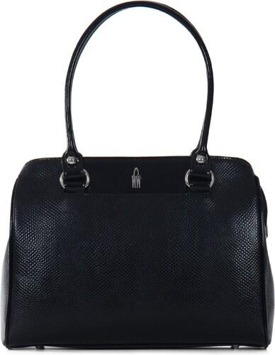 WOJEWODZIC Luxusní kožené kabelky přes rameno 31503 PC01 PL01 černé ... 0a466ba622d