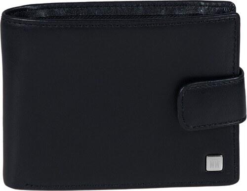 4f98e95f51 Wojewodzic kožené značkové peňaženky čierne 3PMA63 S01 - Glami.sk