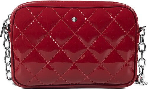 Kožená kabelka na rameno online lakovaná červená Wojewodzic 31304 P PL02 a1c1c0b05b1