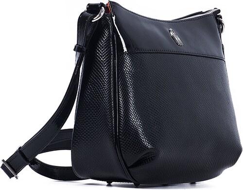 368cb40bf5 Kožená kabelka na rameno online čierna Wojewodzic 31303 PC01 PL01 ...