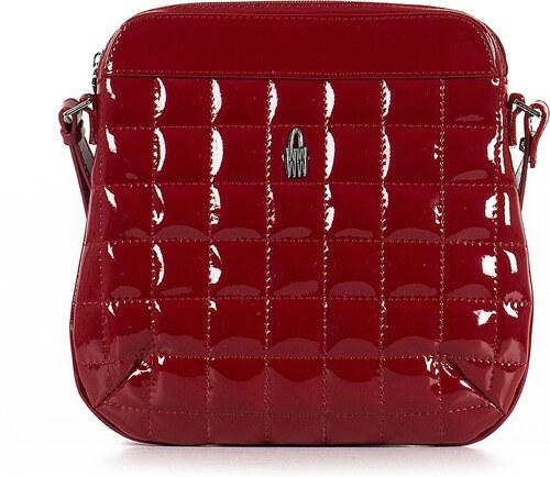 daf1bd99ec Kožená kabelka na rameno crossbody červená online Wojewodzic 31120 P PL02