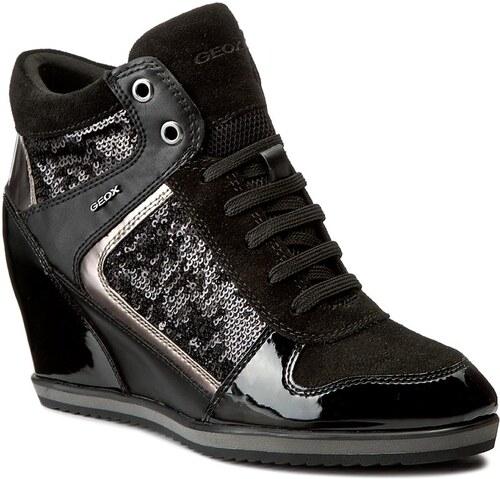 a22c1f30b4e Sneakersy GEOX - D Illusion B D7254B 0AT54 C9999 Black - Glami.cz