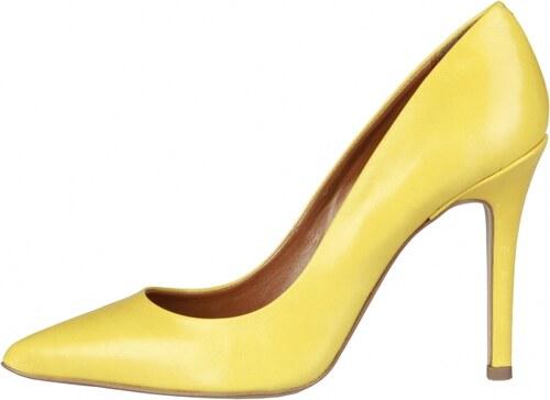 341c99051c PIERRE CARDIN Magassarkú cipő MATHILDE GIALLO - Glami.hu