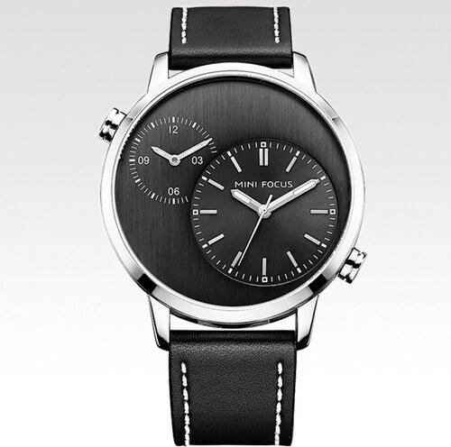 283330cd121 Mini Focus Pánské hodinky s velkým ciferníkem Deck černé - Glami.cz