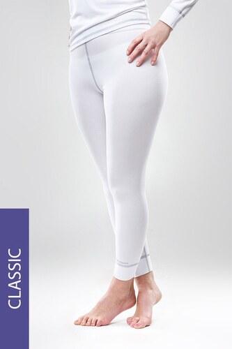 762bb0a4201d MrsFitness Termo nohavice Classic – biele biela - Glami.sk