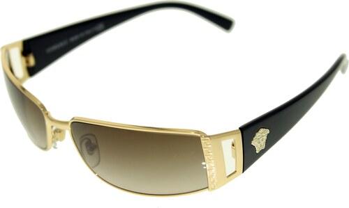 Versace Női Napszemüveg Gradient VE2021-100213-60 Gold Rectangle ... 859de9ec3f