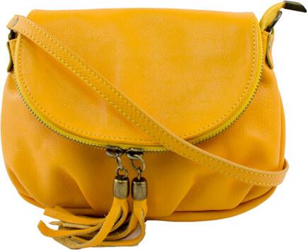 ebba0528d3ec Diva Természetes bőr Sárga Táska cod. TR961-Yellow - Glami.hu