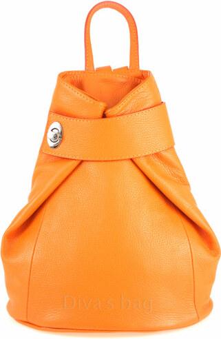 b56adeb06e6c Diva Természetes bőr Narancssárga cod. S6933-Orange - Glami.hu