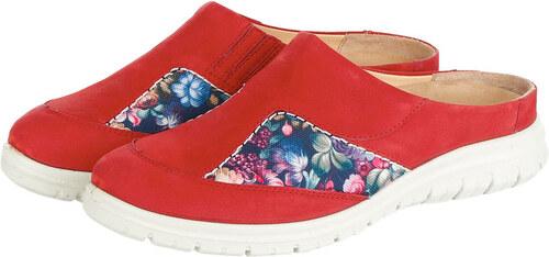 f86a4918a586 Dreváky Jomos červená kvety - Glami.sk