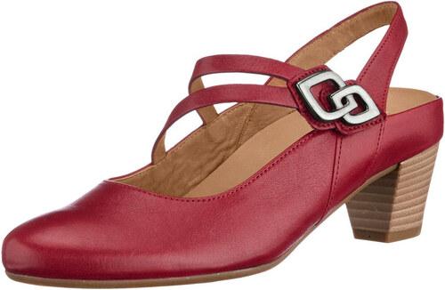 bddd2dc2a5 Sling obuv Gabor červená - Glami.sk