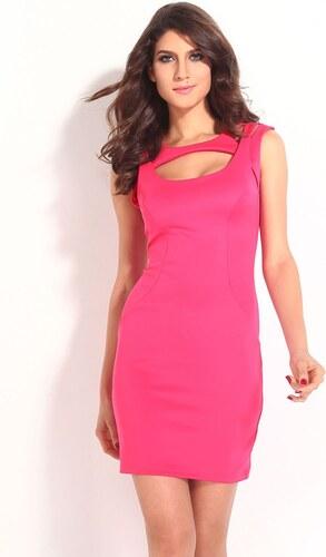 Levné růžové krátké letní šaty - Glami.cz d4958f7725