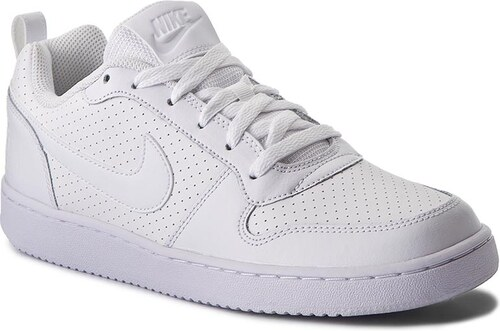 fa57b1fecc Cipők NIKE - Court Borough Low 838937 111 White/White/White - Glami.hu