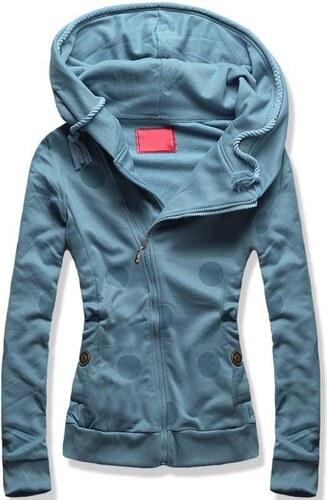 b63cf7589b5 Butikovo Jeans modrá mikina D376 - Glami.cz