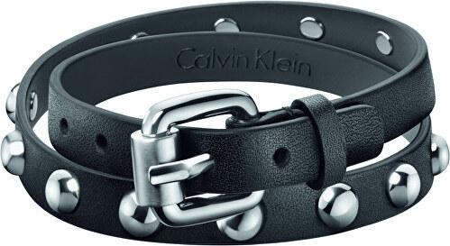 Calvin Klein Dvojitý kožený náramok KJ5NBB7903 - Glami.sk 2e34b5a2223