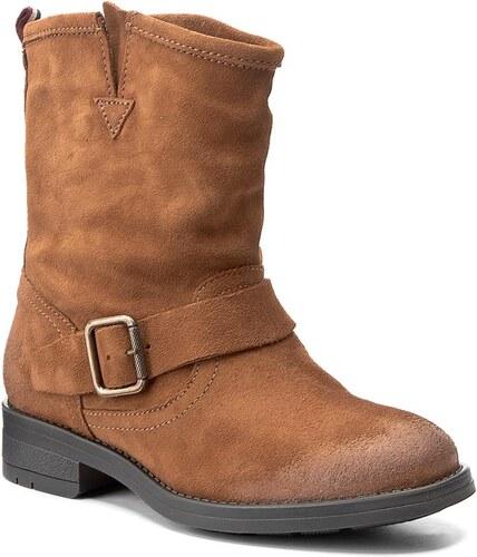 Magasított cipő TOMMY HILFIGER - DENIM Aline 1B FW0FW01350 Winter Cognac 906 e0afa7739b