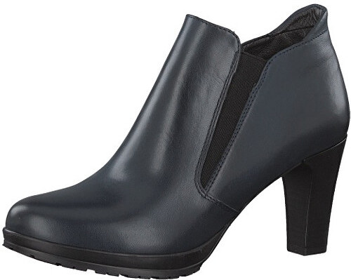 Tamaris Elegantné dámske členkové topánky 1-1-25395-29-805 Navy ... 9748ca10d98