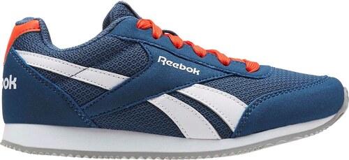 Reebok Classic Jogger RS Trainers Junior Boys Blue White - Glami.cz 810656762